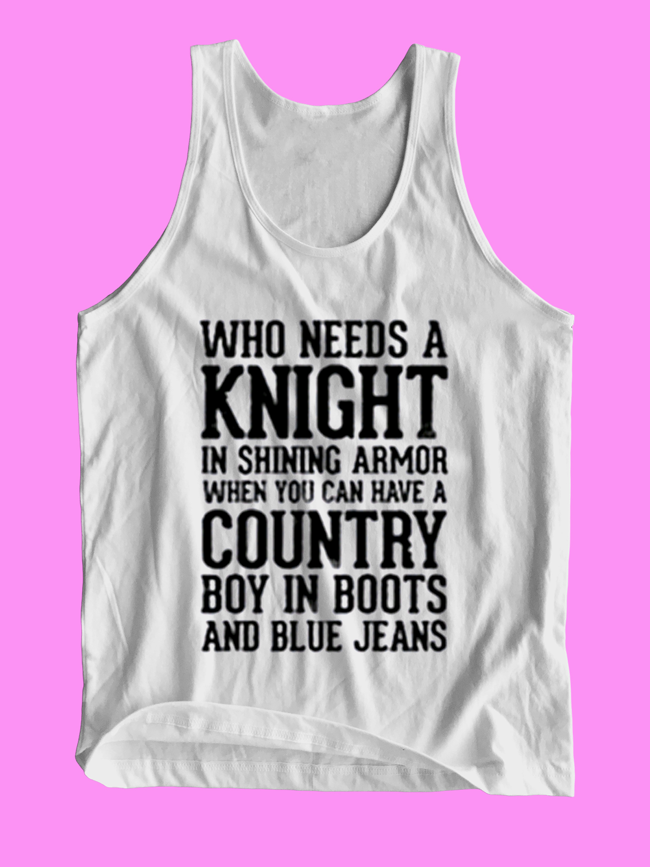 Who Needs a Knight in Shining