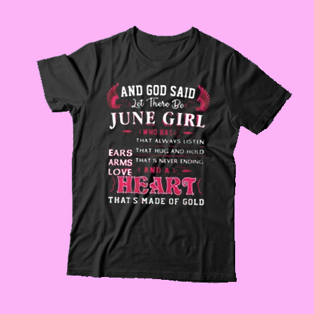 And god said let there be June girl