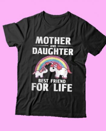 Unicorn Mother and Daughter best friend for life