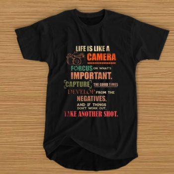 Life Is Like A Camera Focus On What's Important