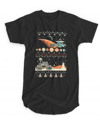 8 Bit Space Christmas