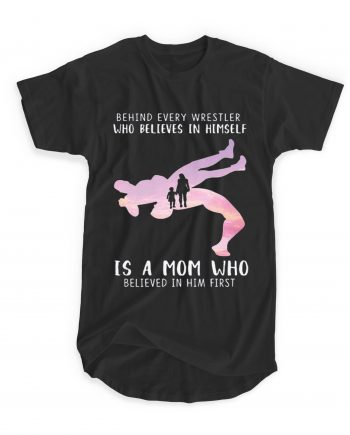 Wrestler Believes Mom