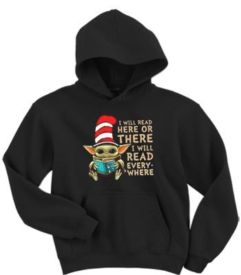 baby yoda hat dr seuss i will read here or there or everywhere