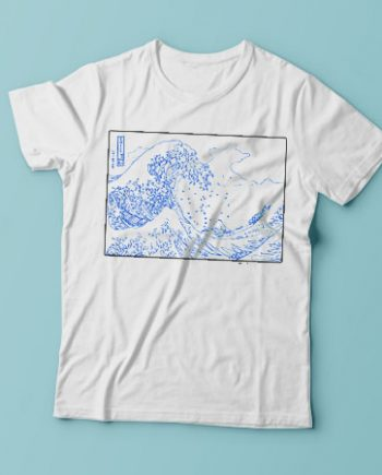Waves Of Kanagawa Outline