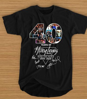 40 years of Huey Lewis and the news 1979 2019